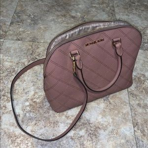 Dusty rose Micheal Kors Bag